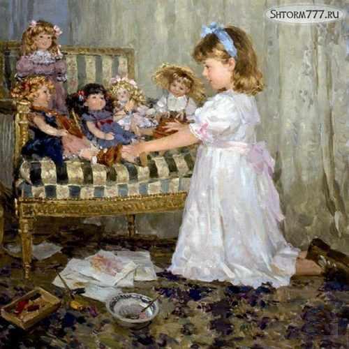 Подаренные куклы-2