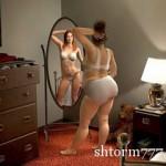 Смотреть отражение в зеркале или свойства зеркал