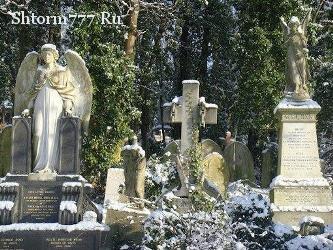 Призраки, Жизнь после смерти, Кладбище