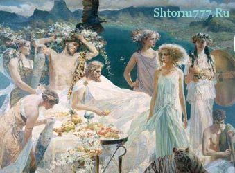 Древнегреческий миф, Предсказание