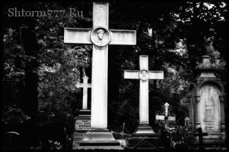 Загробная жизнь, Кладбище