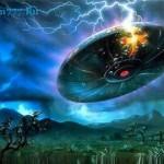 НЛО — летающая тарелка, глазами очевидцев…