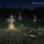 Кладбище пристанище призраков