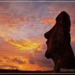 Остров Пасхи — появление средневекового рыцаря, телепортация?