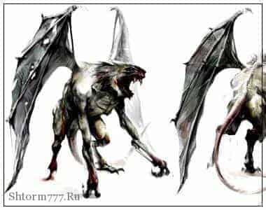 затерянный мир, крылатые монстры