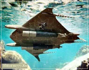 НПО, подводные НЛО