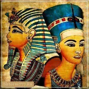 Эхнатон, Нефертити
