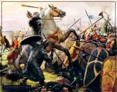 В битве при Гастингсе