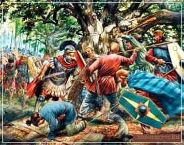 Тевтобургский лес - битва