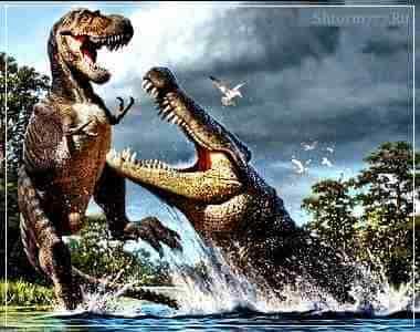 Встречи с доисторическими животными