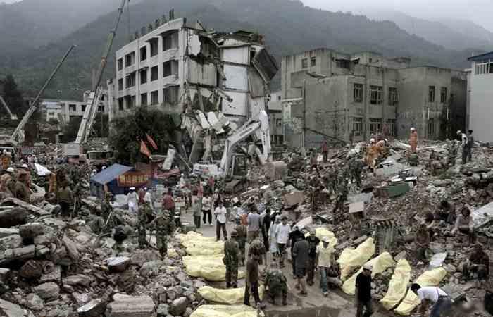 Землетрясение в Таншане-1