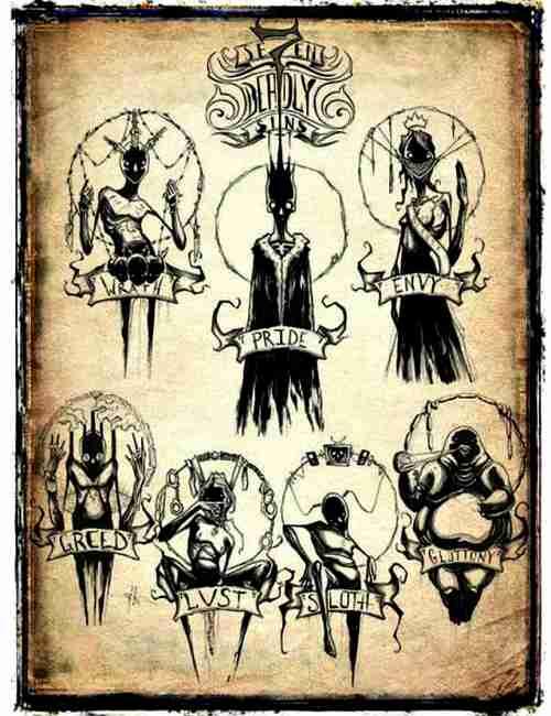 7 смертных грехов-7