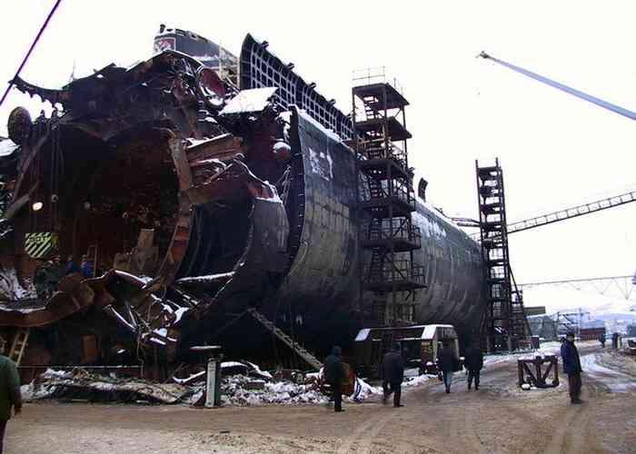 Гибель подлодки Курск-4