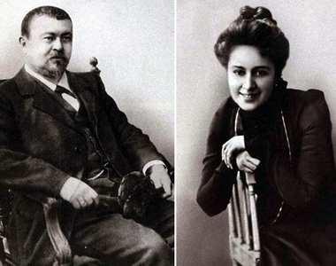 Савва Морозов с Марией Андреевой