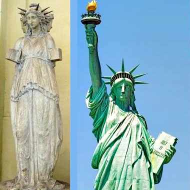 Статуя Свободы — Геката