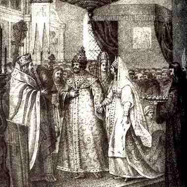 Венчание Ивана III с Софьей