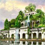 Висячие сады Семирамиды. Описание. Факты. История