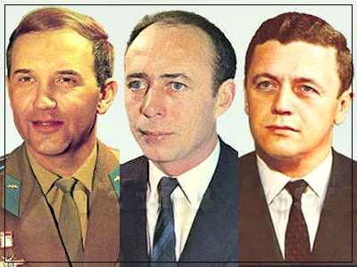 Члены экипажа Союза-11