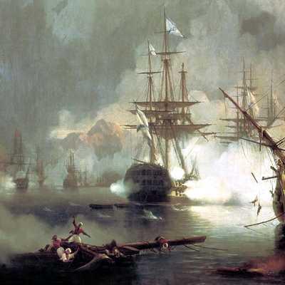 Наваринское сражение 1827 года