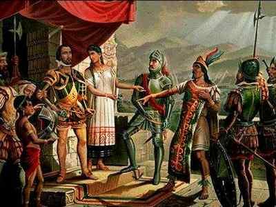 Эрнан Кортес. Что открыл. Биография. Завоевание Мексики