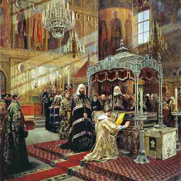 Царь Алексей Михайлович и Никон