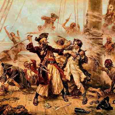 Черная Борода (Эдвард Тич). Биография пирата