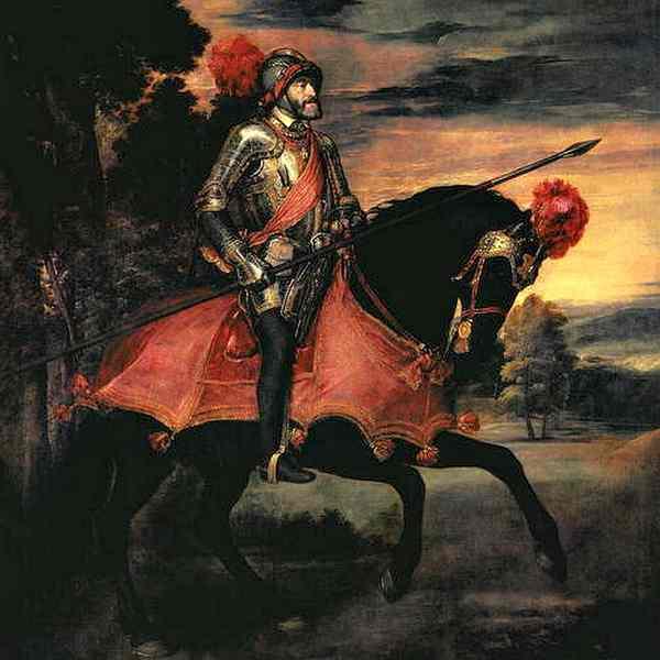 Император Карл V Габсбург