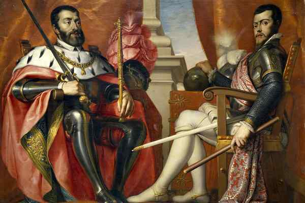 Карл V и Филипп II Габсбурги