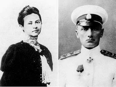 Колчак и жена Софья Федоровна