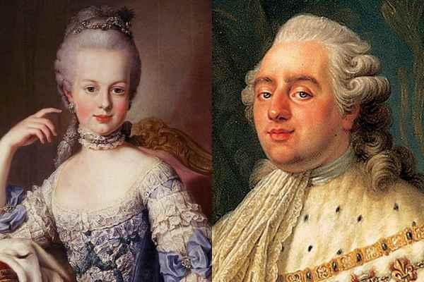 Мария-Антуанетта. Людовик XVI