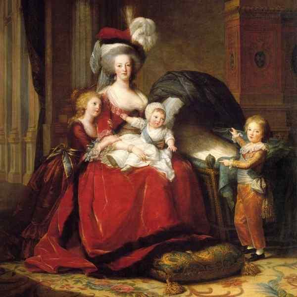 Мария-Антуанетта и ее дети