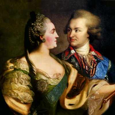 Потемкин и Екатерина II