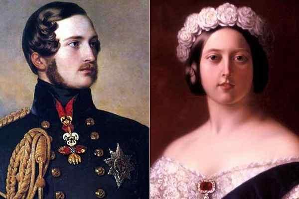 Принц Альберт, королева Виктория