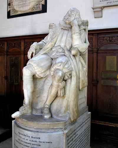 Статуя Ф. Бэкона