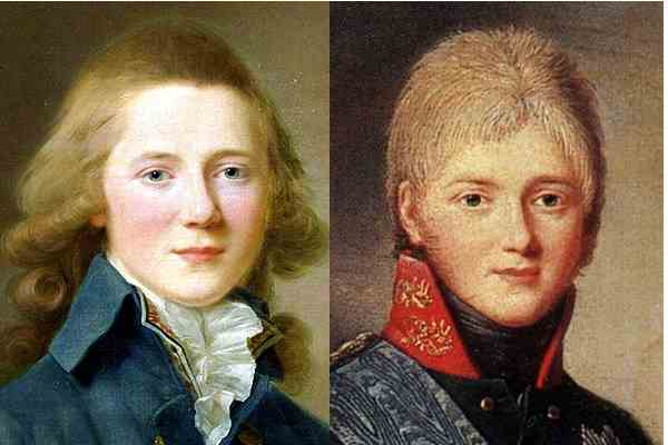 Портрет великого князя Александра Павловича