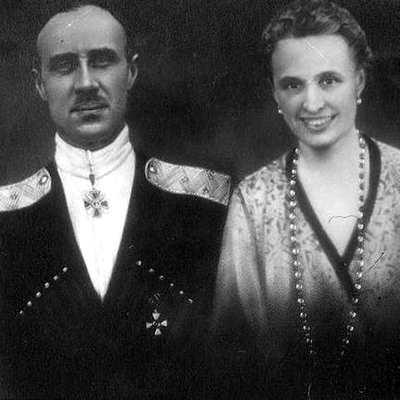 Врангель с женой Ольгой