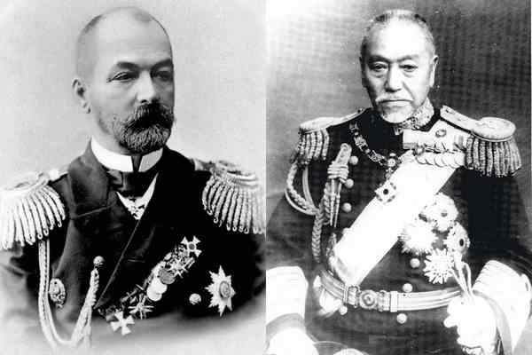 Адмирал Рожественский и Того