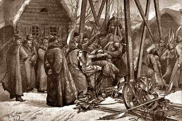 Пытки боярыни Морозовой