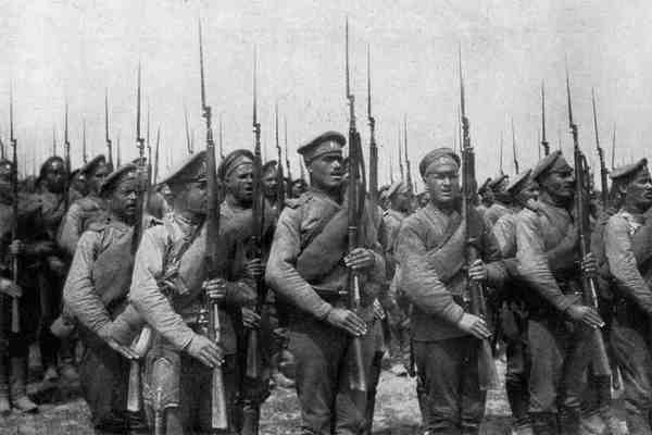 Русская пехота 1916 год