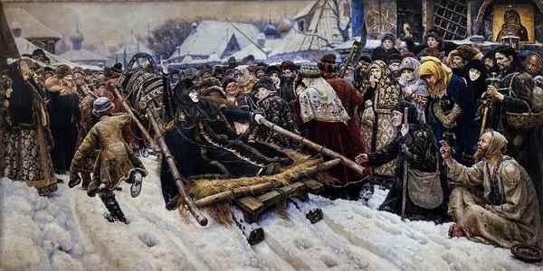 Суриков, Боярыня Морозова