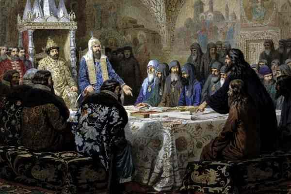 Церковный раскол 17 века-2