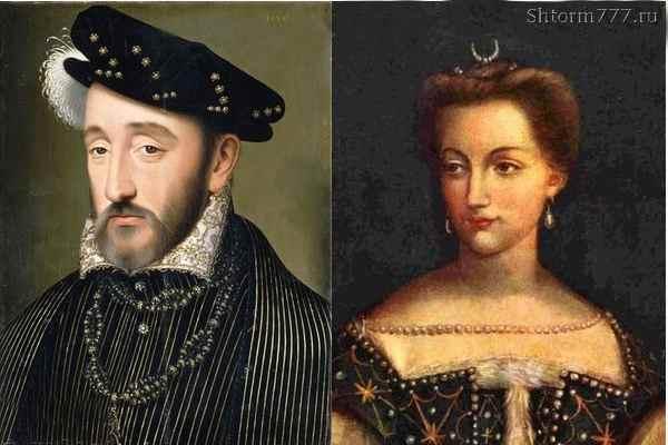 Диана де Пуатье - Генрих II