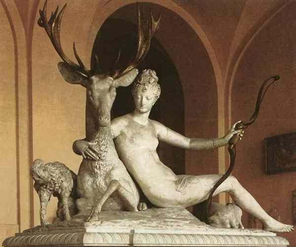 Статуя Дианы