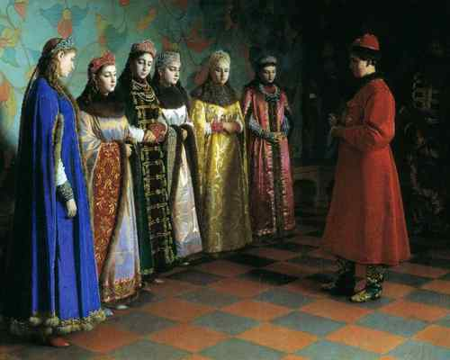 Жены Ивана Грозного, смотр невест