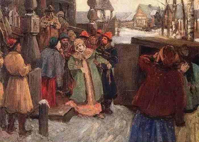 Царевна Софья, арест