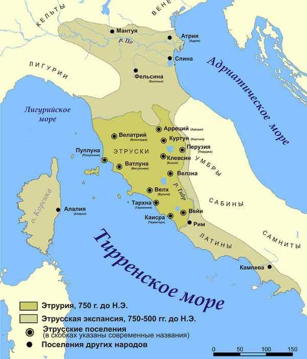 Этрусская карта