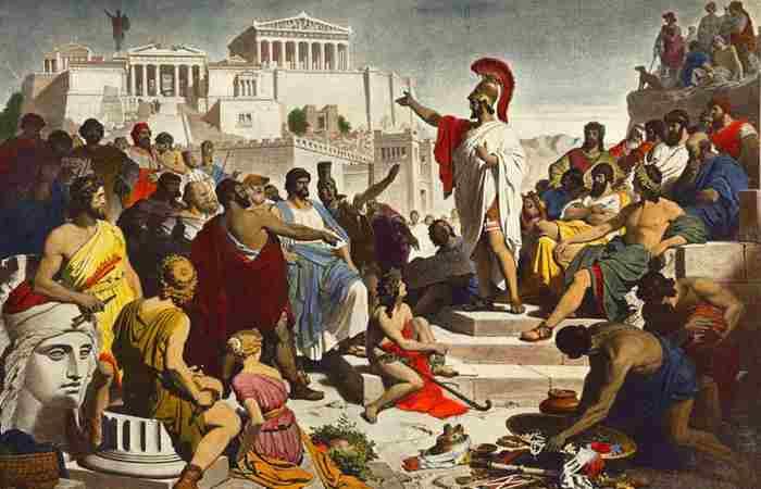 Война между Афинами и Спартой-1