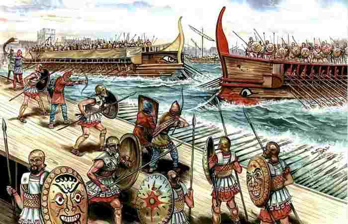Война между Афинами и Спартой-2