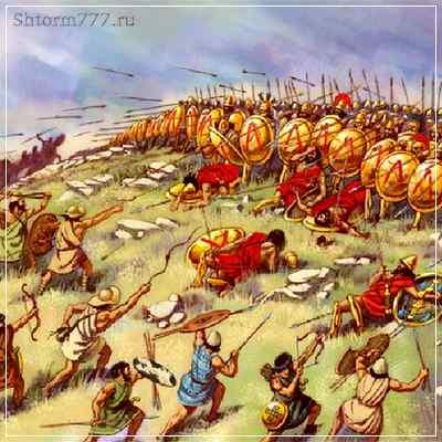 Война между Афинами и Спартой
