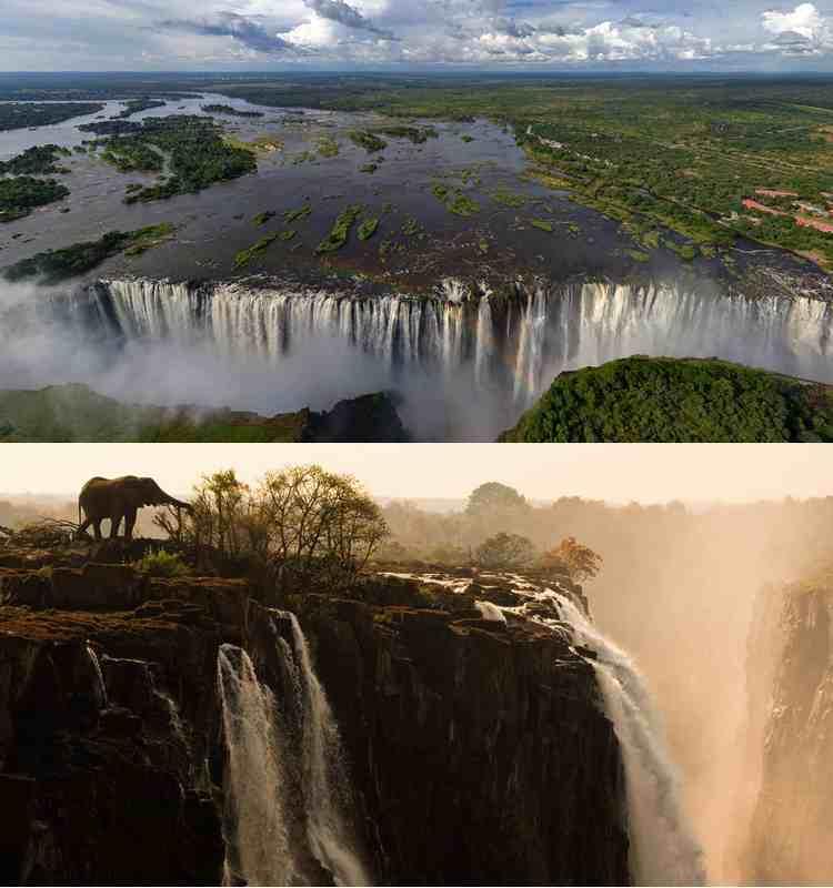 Водопады Африки-1
